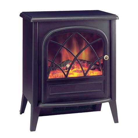 ritz 2kw portable electric with optiflame log effect