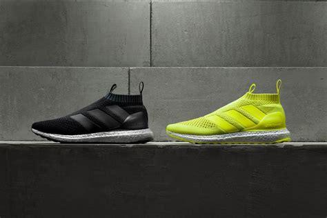 Sepatu Adidas Ace 16 Purecontrol Ultra Boost All Black Premium adidas ace 16 purecontrol ultra boost hypebeast