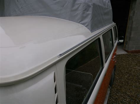 awning rail for vw t2 bay window cer essentials