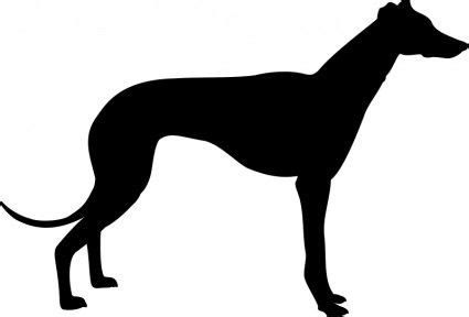 greyhound templates greyhound silhouette vector clip art
