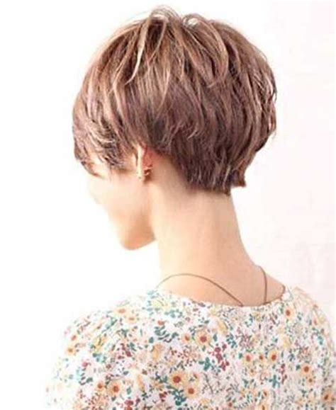 the backs of womens short haircuts short layered haircuts for women front and back view www