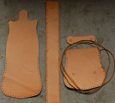 free pattern leather bag simple leather purse