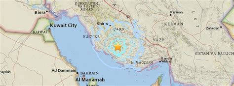 earthquake december 2017 four dead after shallow m5 3 earthquake hits southern iran