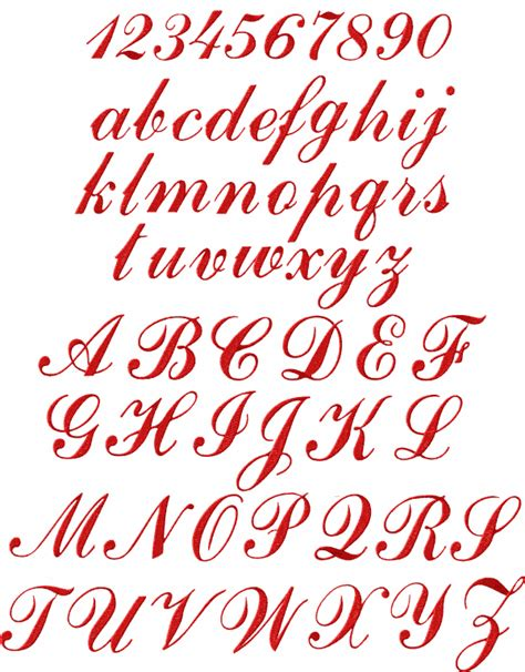design font script script alphabet