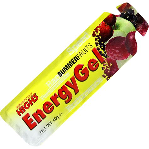 Energys Energy Gel by Wiggle High5 Energy Gel Sachets 20 X 38g Energy
