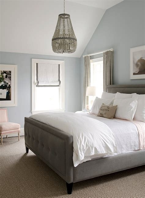 grey blue and white bedroom gray roman shade with pink trim design ideas