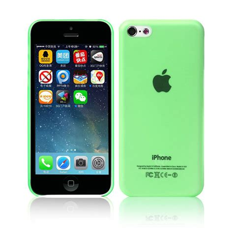 Iphone 5c Melkco Air 0 4mm discoverybuy wing green 0 4mm
