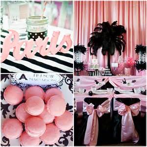 Paris Themed Quinceanera Parisian Party A Night In Paris Sweet Fifteen Theme Quince Candles