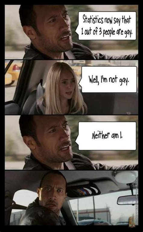 The Rock Meme Car - must be you the rock driving know your meme