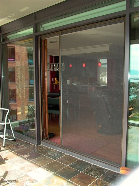Glass Door With Screen Doors Glamorous Sliding Glass Screen Door Sliding Screen Door With Door Sliding Screen