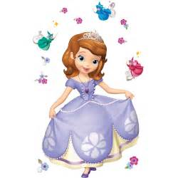 Princess Castle Wall Stickers disney junior sofia the first giant wall decals