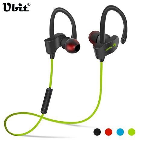 Ubit Mh2 Bluetooth Headphone Speaker Aliexpress Buy Ubit 56s Sports In Ear Wireless Bluetooth Earphone Stereo Earbuds Headset