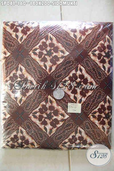 Sprei Katun Motif Batik jual sprei batik motif klasik sidomukti batik