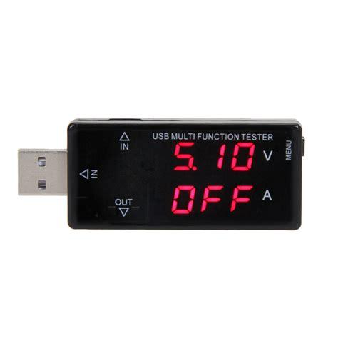 usb test digital display usb multifunction tester current voltage