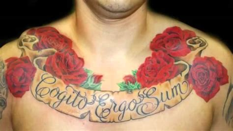best chest tattoo designs blessed tattoos on chest for www pixshark