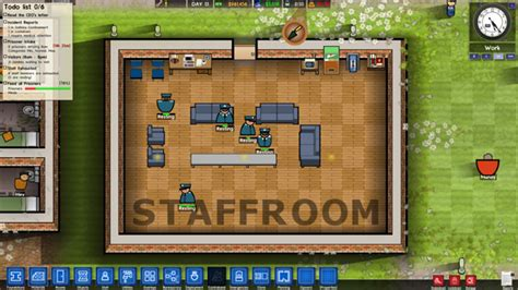 Prison Architect Staff Room by Gamrconnect Forums Carzy Zarx S Pc Gaming Emporium Catch Up On All The Pc Gaming