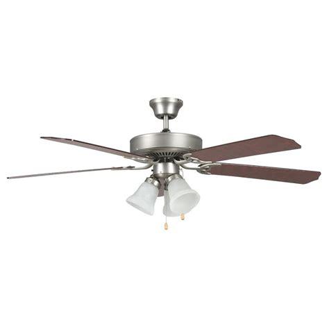 High Tech Ceiling Fan by Radionic Hi Tech Tutor 52 In Satin Nickel Ceiling Fan