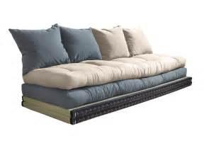 canap 233 convertible futon modulable avec coussins chico