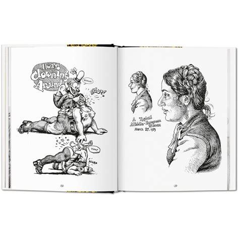 R Crumb Sketches by Robert Crumb Sketchbook Vol 3 1975 1982 Taschen