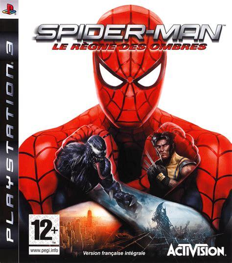 spider le r 232 gne des ombres sur playstation 3