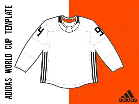 Adidas Hockey Jersey Template Adidas World Cup Template By Matthew Mcelroy Dribbble