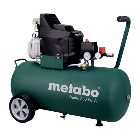 metabo basic compressor 250 50 w rs industrial services