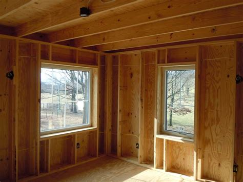 how to build a stud wall in a bathroom farmhouse style meets passive house greenbuildingadvisor com