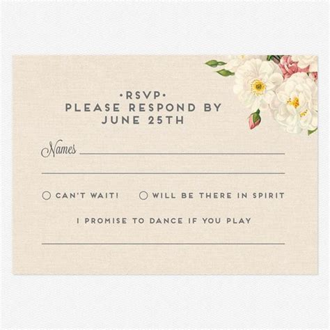 to ensure guests respond to your rsvp on time easy weddings