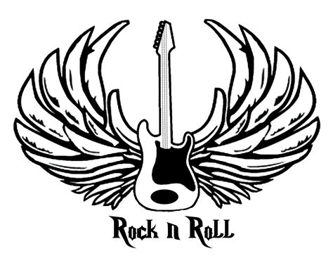 rock n roll cc coloring pages pinterest rock n roll
