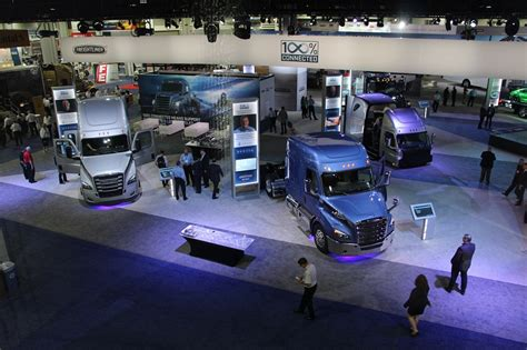 expanded north american commercial vehicle show set  october  equipment trucking info