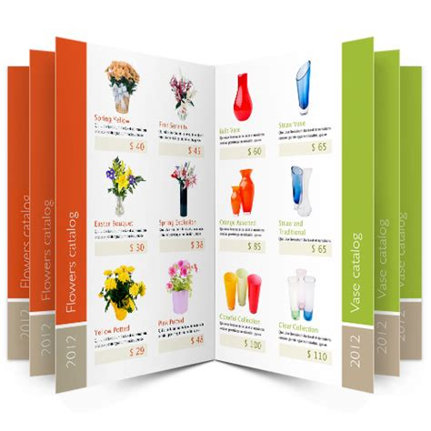 product brochure template word product catalog sles search catalog