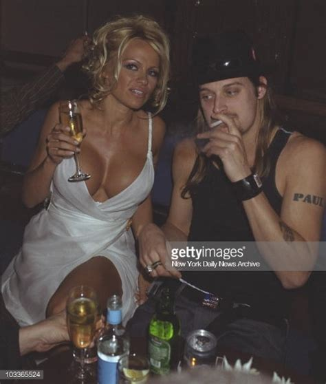 Kid Rock Was Of The Year While Pam Partied by Pam And Kid Rock Partying Pictures Getty Images