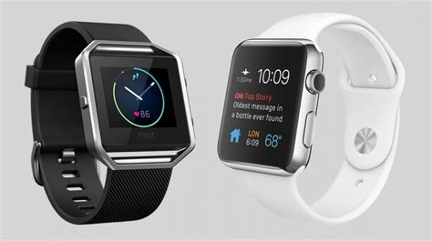 Fitbit Blaze v Apple Watch: Battle of the stylish smartwatches