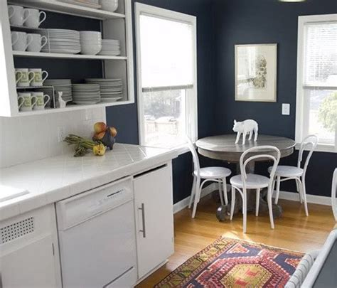 beautiful navy blue kitchen cabinets 7 navy blue kitchen paint colors neiltortorella