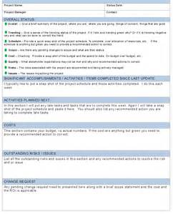 manager weekly report template best photos of project management weekly status reports