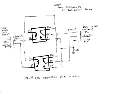 vanagon power window wiring diagram free wiring