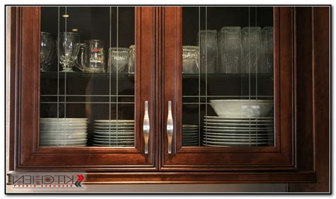 black kitchen cabinets with glass inserts cabinet home