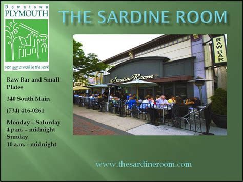 sardine room plymouth mi city of plymouth downtown development authority restaurants