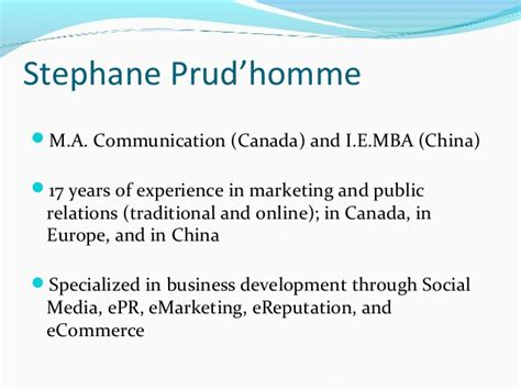 Mba In Ecommerce In Canada by Social Media 101