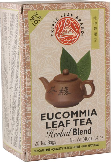 Tripple Leaf Detox Tea Sugar Cravings by Eucommia Leaf Tea
