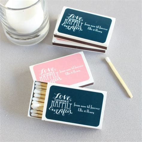 wedding favors matchboxes personalized themed wedding matchboxes