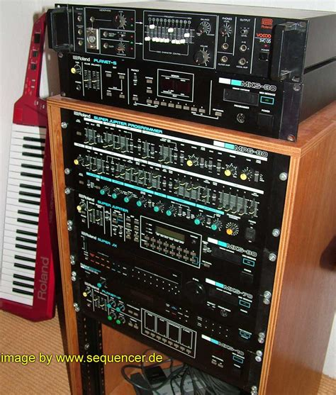 Rack Synth by Roland Synthesizerjx8p Jx3p Mks Programmer Mks80 Mks70