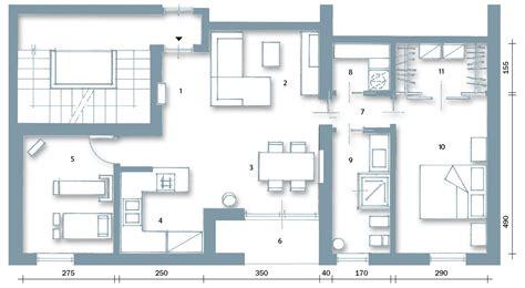 pianta casa casabook immobiliare casa con 10 trucchi 83 mq sembrano pi 249 grandi