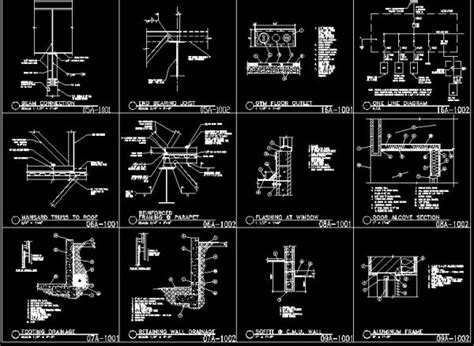 Architecture Details Drawings Cad Drawings Download Cad