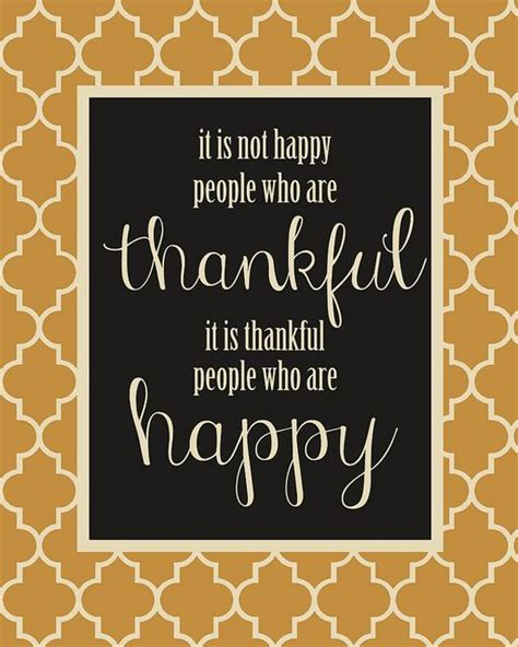 printable thanksgiving quotes it is thankful people who are happy thanksgiving
