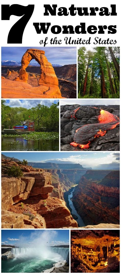 wonders of the united states travel with 7 wonders of the united states
