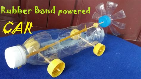 Propeller Plastic Rubber Powered 9 Orange 1 how to make a rubber band powered car air car
