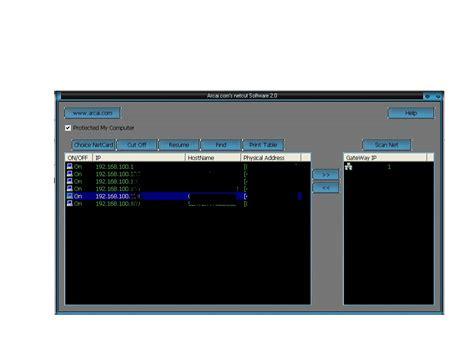 tutorial instal netcut memutuskan jaringan internet dengan netcut tutorial