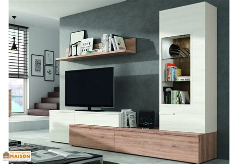 ensemble meuble tele ensemble meuble tv design mural rome 270x195cm ramis
