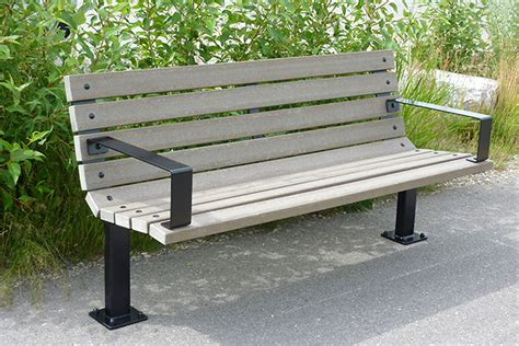 series br benches custom park leisure